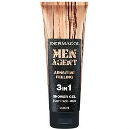 DERMACOL Men Agent 3v1 Sensitive feeling 250 ml